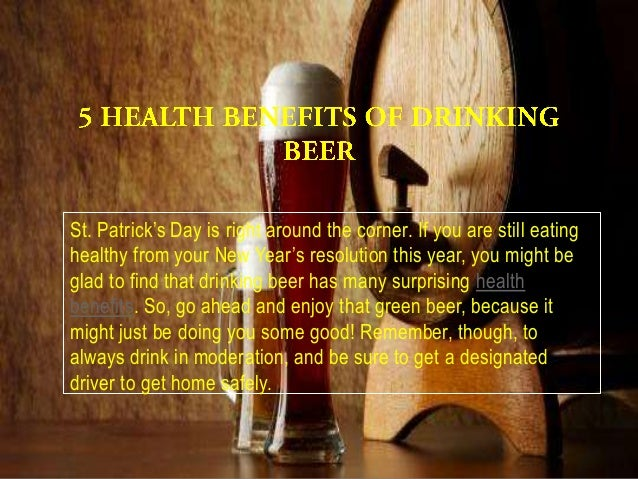 St. Patrick's Day is right around the corner. If you are still eatinghealthy from your New Year's resolution this year, yo...