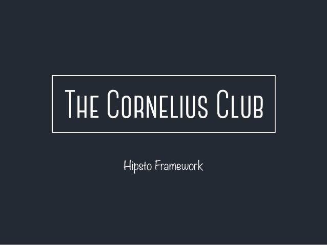 Hipsto Framework