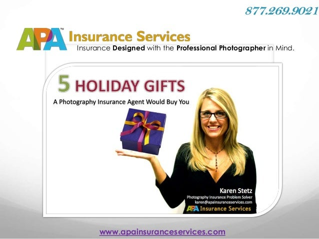 5 Holiday Gifts from a Photography Insurance Agent!