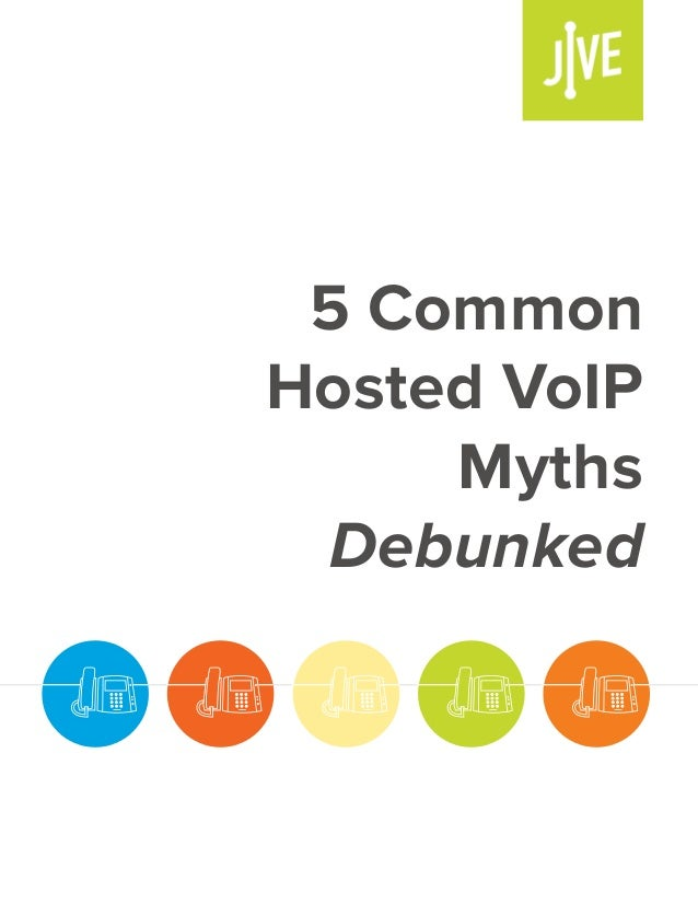 5 common hosted voip myths debunked