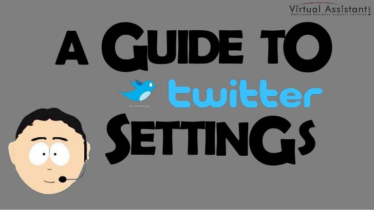 How to Change Profile and Account Settings on Twitter