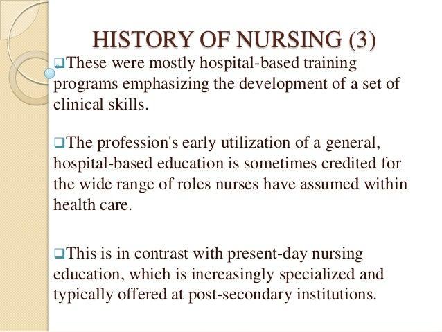 nursing as an occupation essay