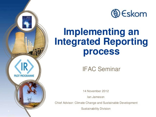 Implementing an Integrated Reporting Process