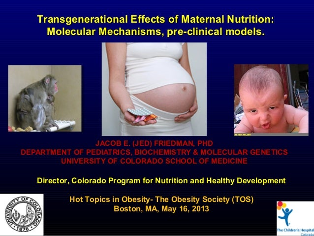 JACOB E. (JED) FRIEDMAN, PHDJACOB E. (JED) FRIEDMAN, PHDDEPARTMENT OF PEDIATRICS, BIOCHEMISTRY & MOLECULAR GENETICSDEPARTM...