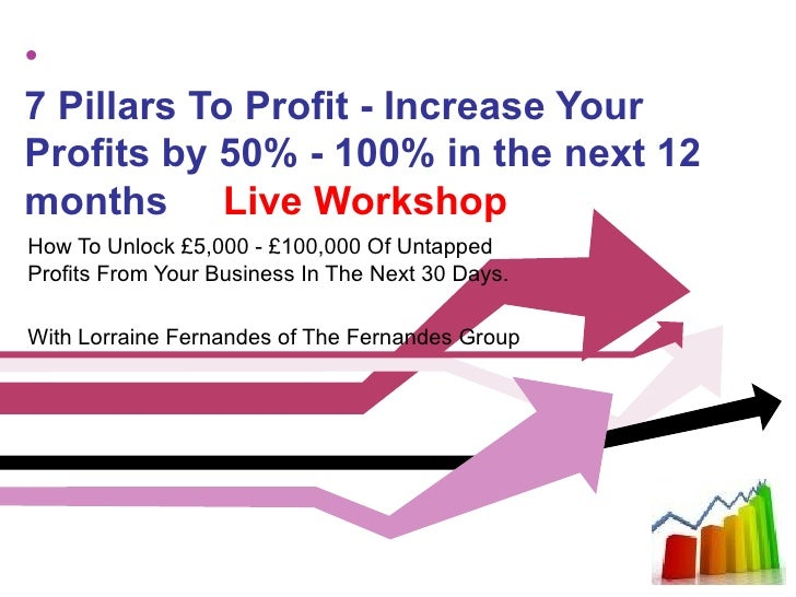 •7 Pillars To Profit - Increase YourProfits by 50% - 100% in the next 12months Live WorkshopHow To Unlock £5,000 - £100,00...