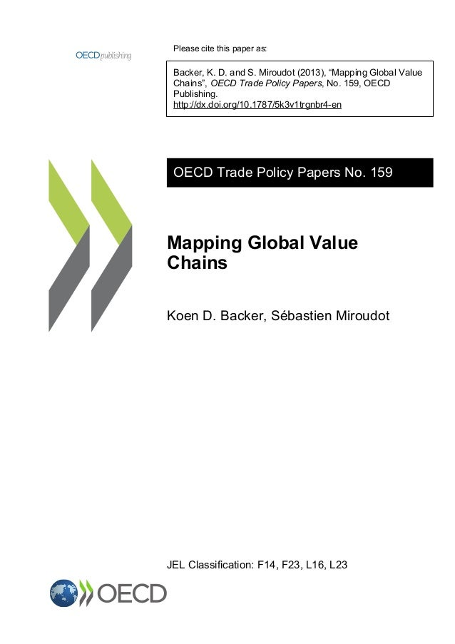 Mapping Global Value Chains