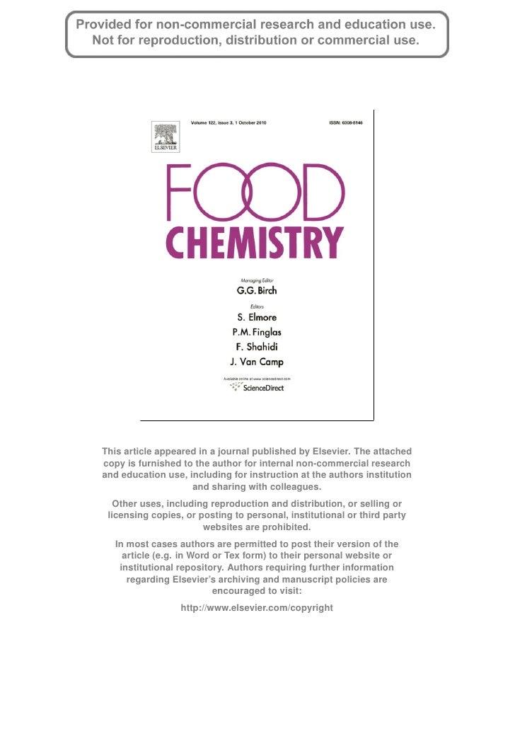 5 kang et al acai paper in food chemistry 2010