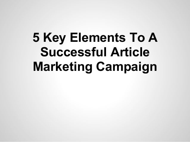 article related to relationship marketing campaign