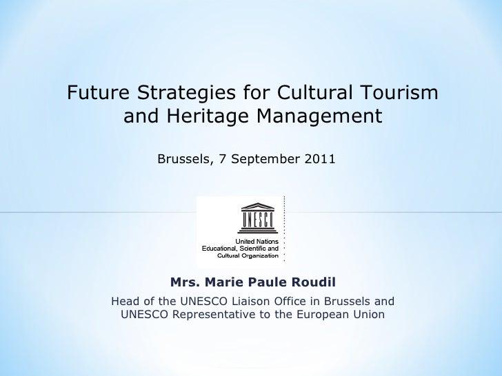 5 keynote Unesco by MP Roudil
