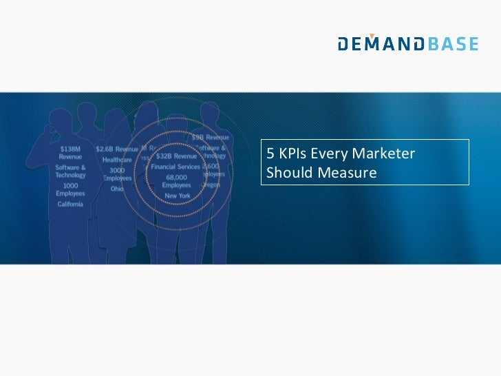 Top 5 KPIs Every Marketer Should be Measuring