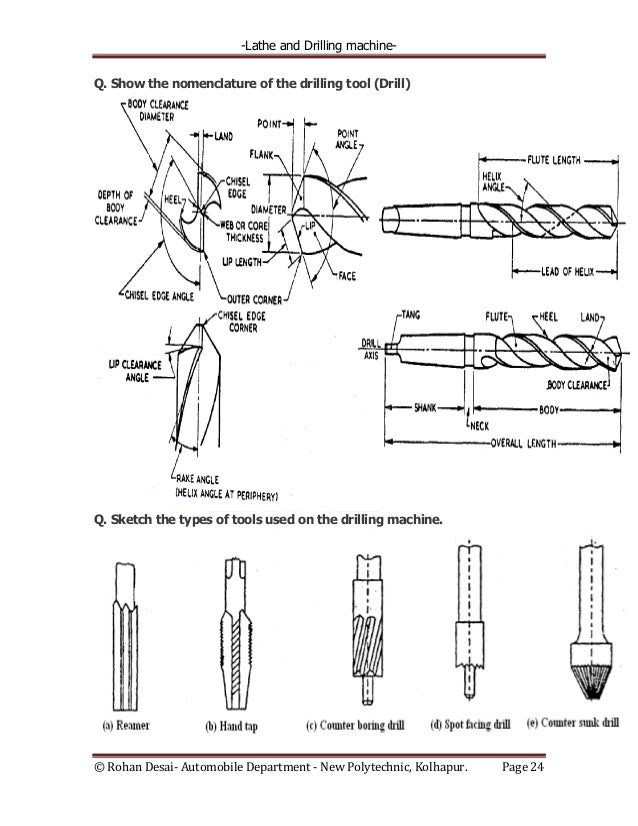 types of drill machine