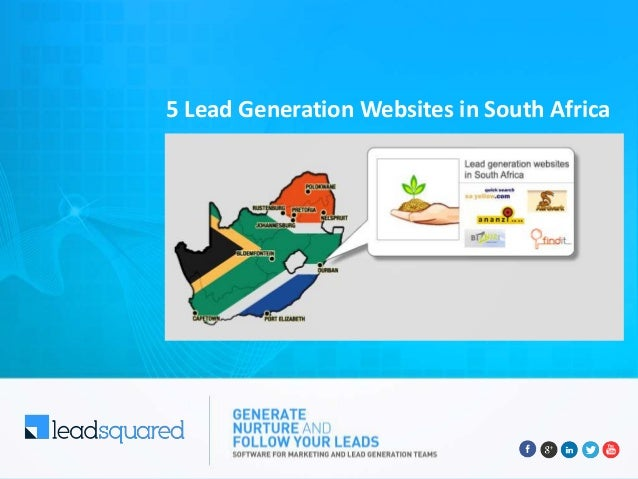 5 Lead Generation Websites in South Africa