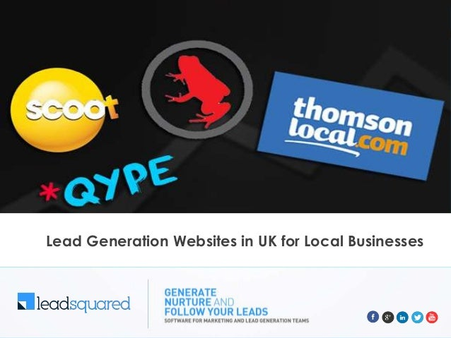 Lead Generation Websites in UK for Local Businesses