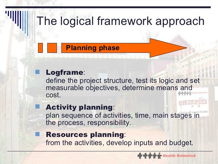logical framework approach The logical framework (logframe) approach (lfa) objectively verifiable indicators (ovis) a) the objectively verifiable indicators ovis are qualified indicators defined for projects, programmes or systems, right from the identification phase, with a view to verify whether their objectives have been reached and to what extent.