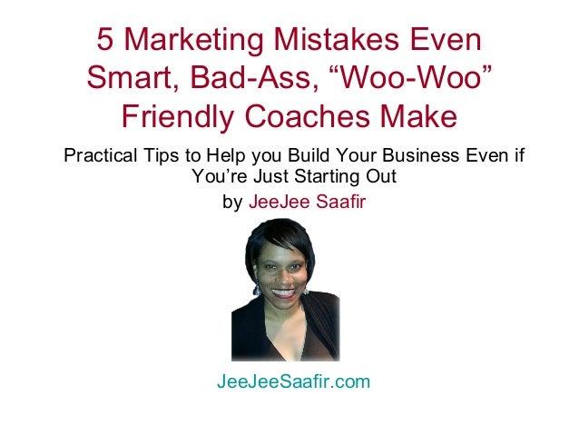 5 Marketing Mistakes Relationship & Sexuality Entrepreneurs Make