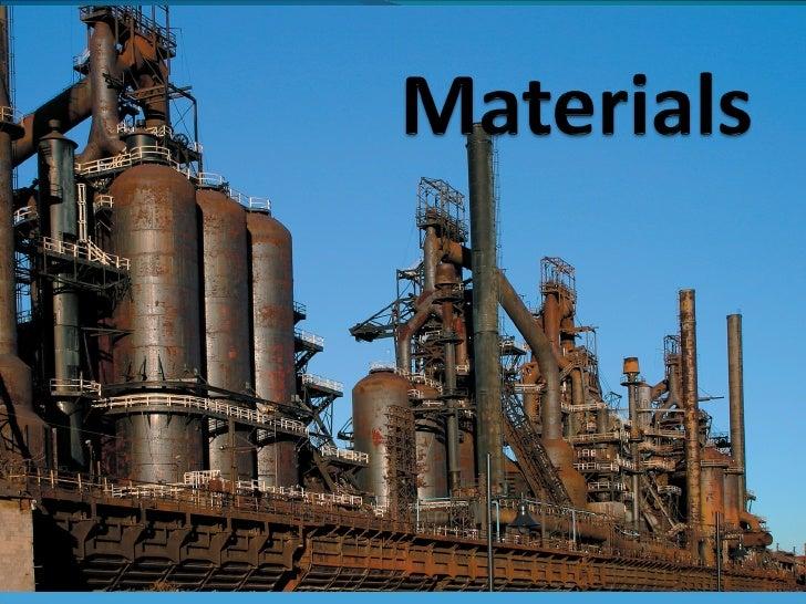 Mechanical Technology Grade 12 Chapter 5 Materials