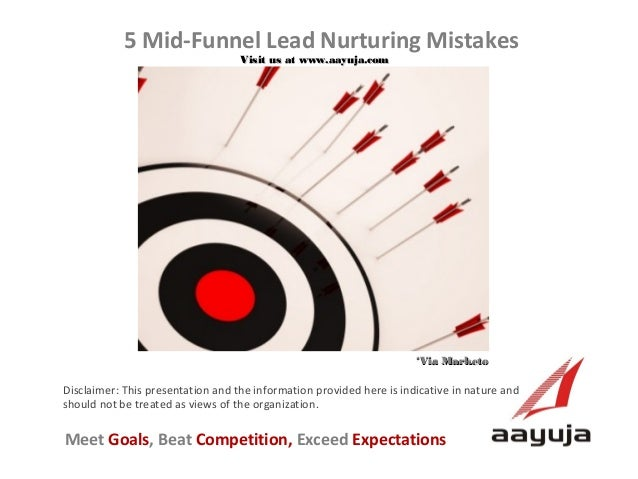 5 Mid-Funnel Lead Nurturing Mistakes