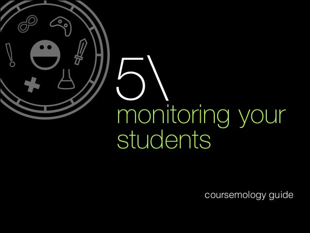 5 your monitoring students coursemology guide