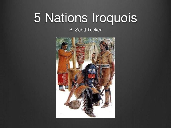 5 nations iroquois