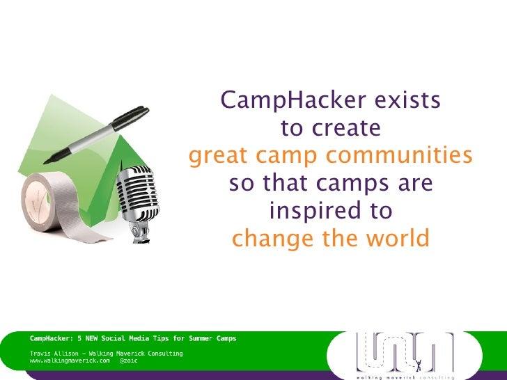 5 New Social Media Tips for Summer Camps