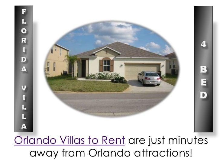 Orlando Villas to Rent