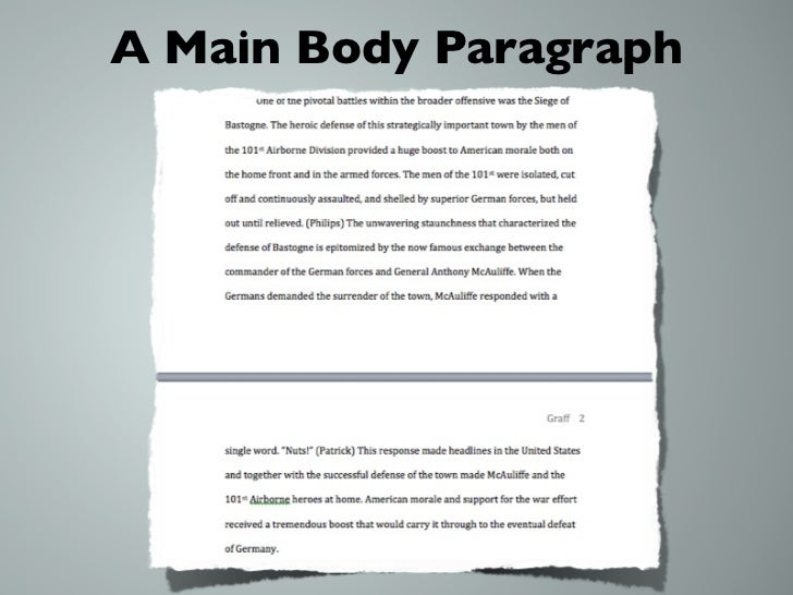 5 body paragraph essay
