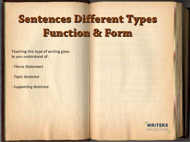 Need information on essays with varieties of sentences?