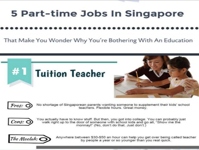 Part Time Jobs in Singapore | Find Part Time Jobs in Singapore on Gumtree | Gumtree Free Classifieds. Cafe Hiring Part Timer ServerRequirement- able to commit days per week including weekends- able to commit at least months- must be service oriented- no experience requireIf interested, please walk in for an interview pm on any.