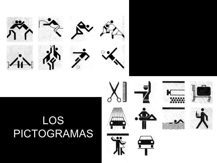 LOS PICTOGRAMAS