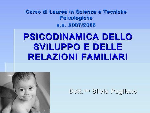 5 psicodinamica dello sviluppo (1)