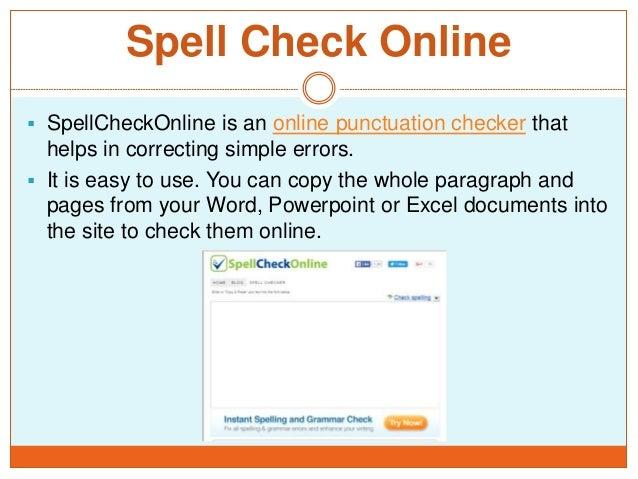 Online punctuation