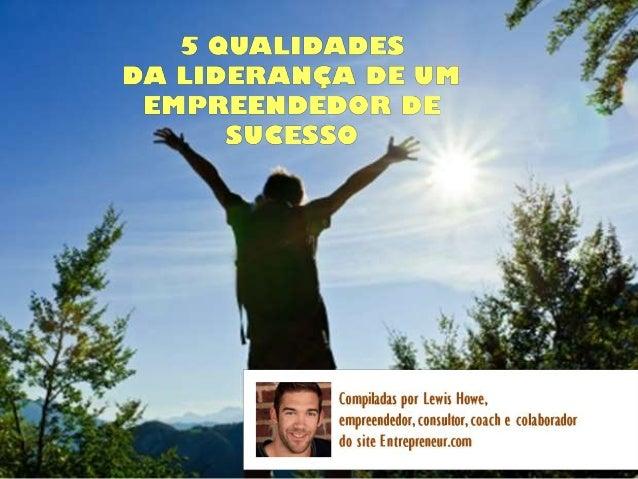 5 qualidades da liderança de um empreendedor de sucesso para gif