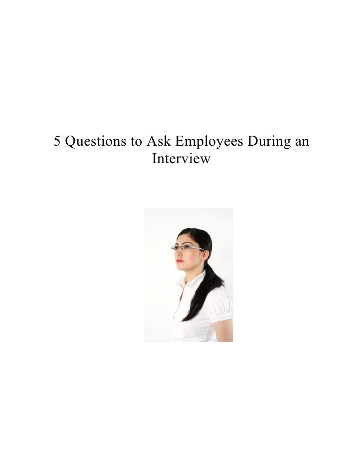 what questions to ask during interview