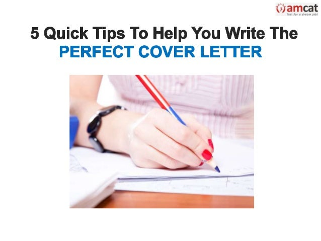 Quick Tips to a Standout Cover Letter