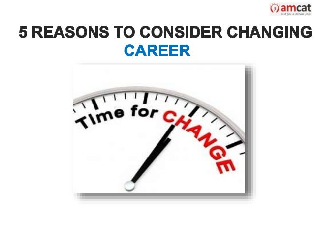 reason for job change