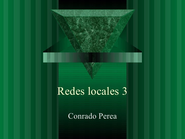 5 redes locales