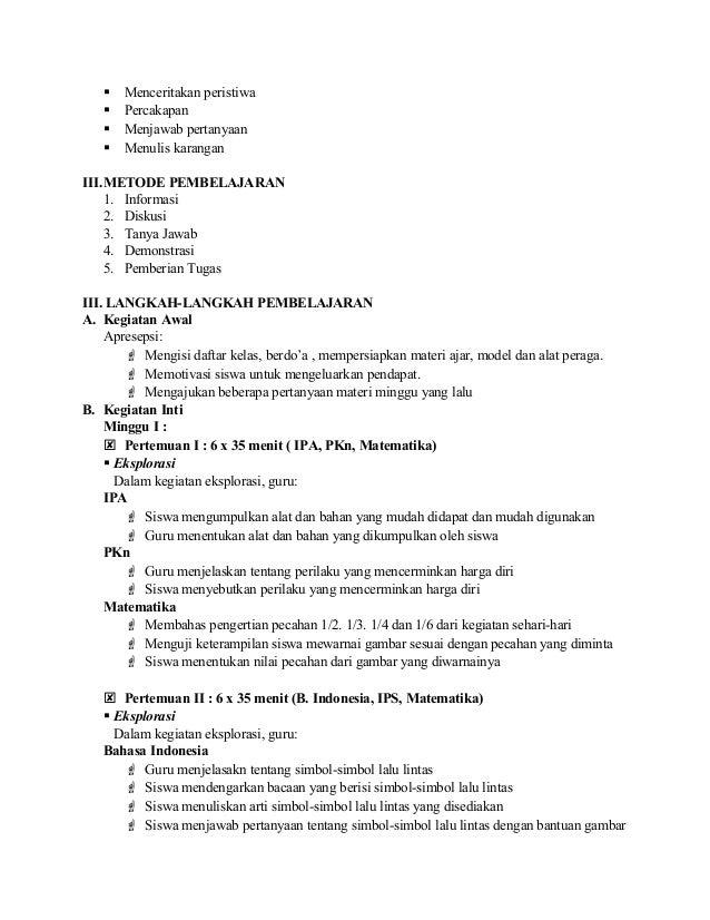 5 Rpp Tematik 3 Semester 2