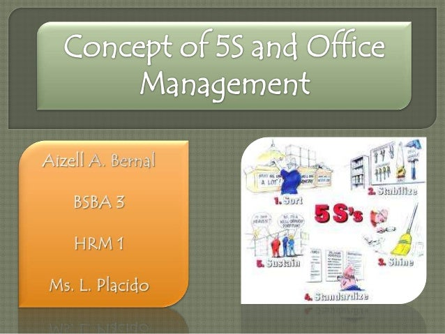Concept Of 5S And Office Management
