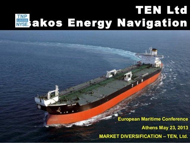 George Saroglou-Market Diversification: The Case of Tsakos Group