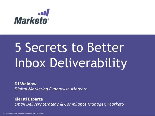 5 Secrets to Better Inbox Deliverability