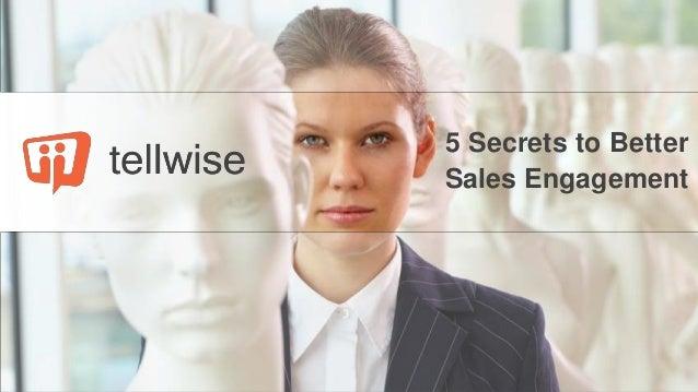 5 Secrets to Better Sales Engagement