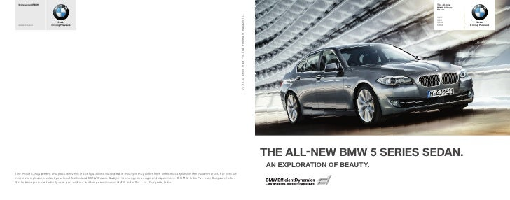 The New BMW 5 Series (F10)