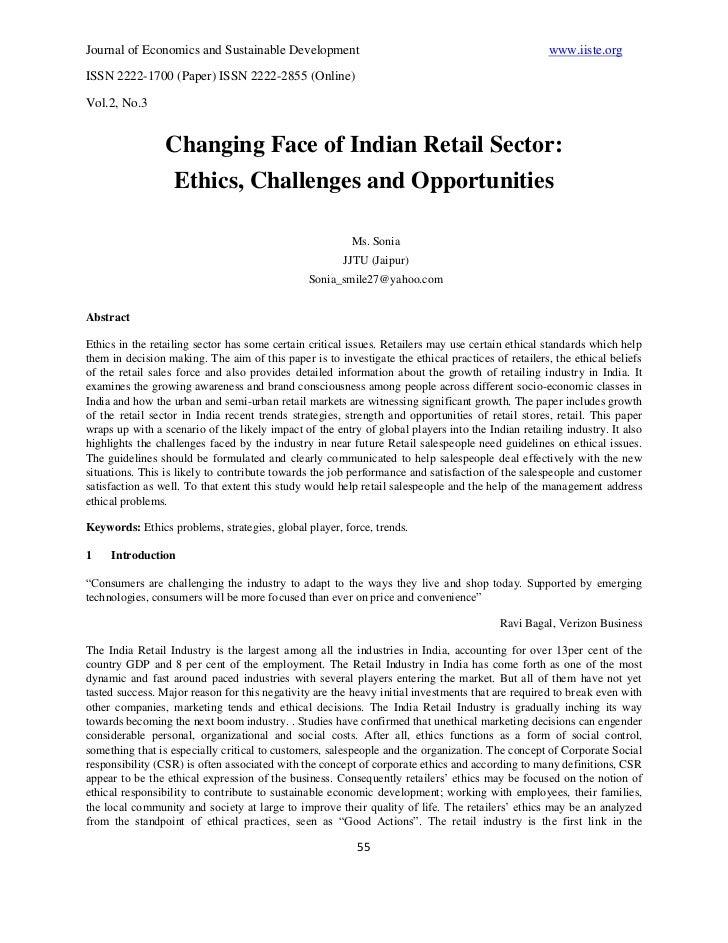 Journal of Economics and Sustainable Development                                                   www.iiste.orgISSN 2222-...