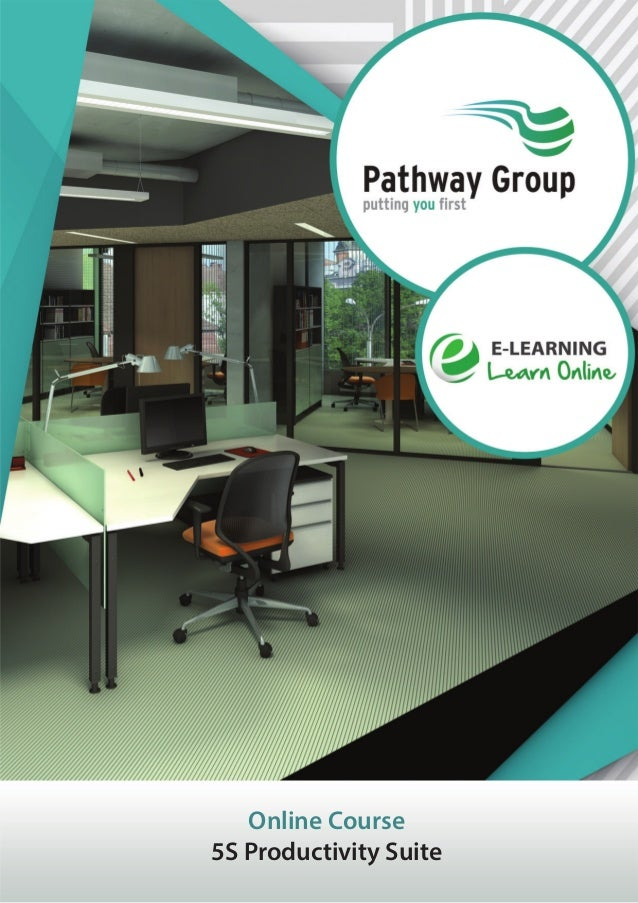 5S Productivity Suite, Online Business Courses, E-learning Pathway Courses, Pathway Group