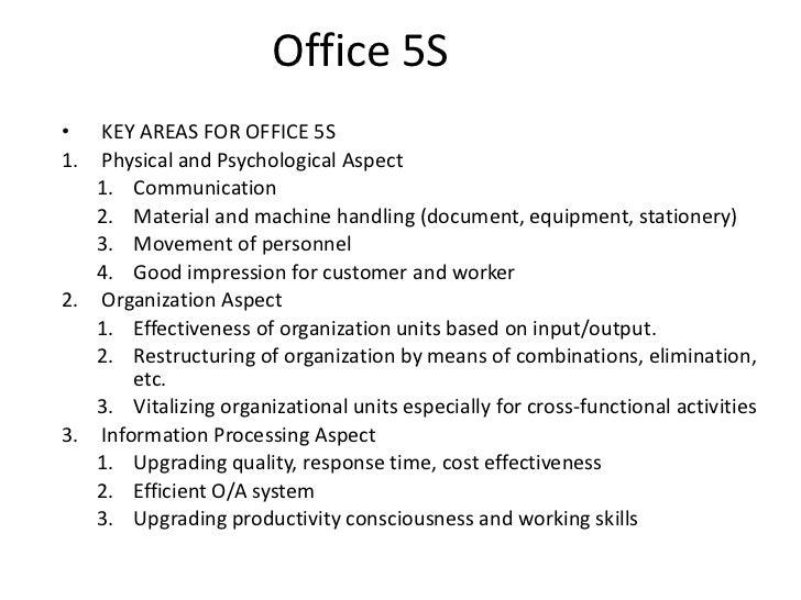 5 S Program Orientation Powerpoint Presentation