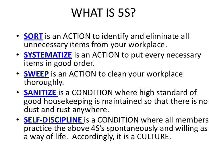 How To Stop Rust >> 5 S Program Orientation Powerpoint Presentation
