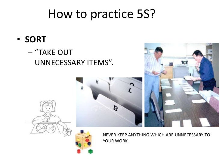 5 s program orientation powerpoint presentation