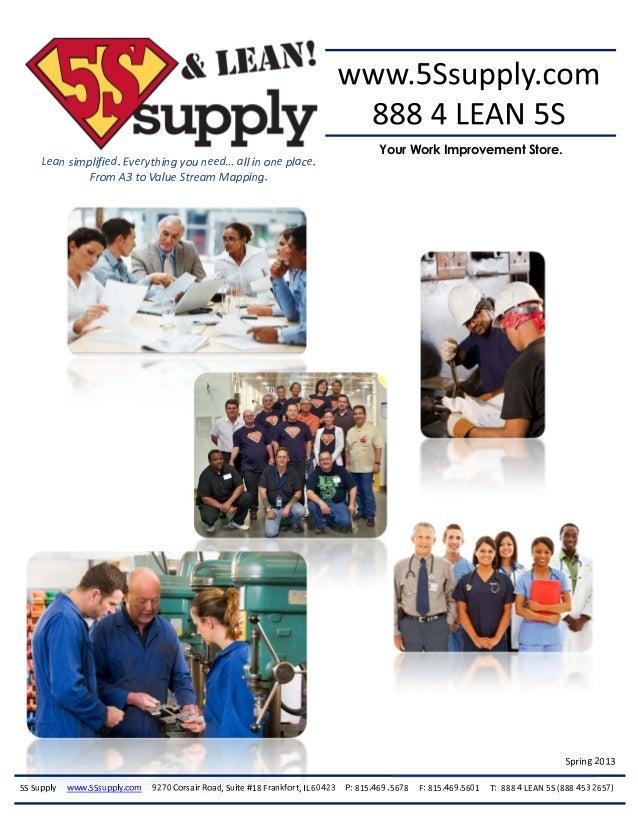 5S Supply Catalog
