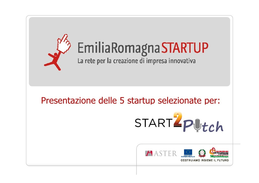 5 startup a Start2Pitch 2012