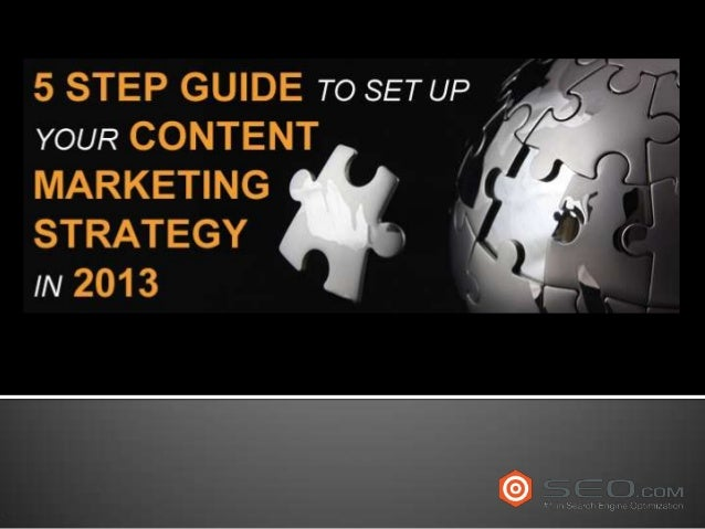 5 step content marketing strategy